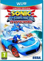 Sonic & All-Stars Racing Transformed Special Edition Nintendo Wii U PAL UK