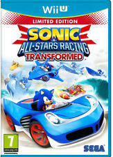 Sonic and All Stars Racing Transformed Limited Edition Nintendo Wii U New Sealed