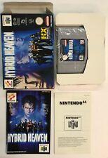 Nintendo 64 HYBRID HEAVEN N64 PAL