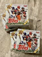 4 x 2020 Topps Holiday MLB Baseball Sealed Mega Box Walmart Exclusive LOT OF 4 ⚾