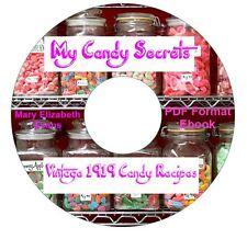 RARE CANDY SECRETS-Evans Cookbook Recipes CD Ebook PDF-Kindle-iPhone Compatible