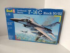 Revell 1:72 F-16C Block 50/52  Plastic Model Kit Fighter Jet Army Airplane