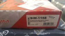 SIM-1158 Front SIM Semi-Metallic Brake Pads Fits Ford Mercury