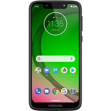 "Unlocked Motorola Moto G7 Play 32GB Memory 5.7"" Screen Cell Smart Phone Blue"