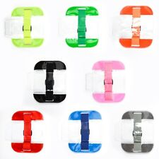 High Visibility Security ARMBAND ID Holder - choice of colours & pack sizes