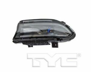 TYC FIT FOR CHARGER 2015 2016 2017 2018 2019 HEADLIGHT HALOGEN W/LED LEFT DRIVER