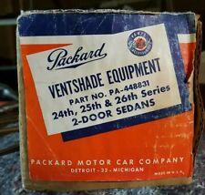 1951 thru 1954 Packard 200 & Clipper Auto Vent Shades For 2-Door Club Sedans
