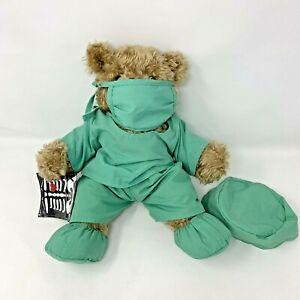 Realistic Build A Bear MD Nurse Doctor Surgeon Scrubs Mask  X-ray
