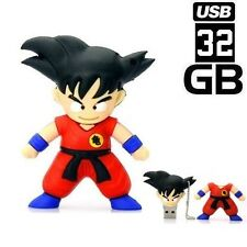 PENDRIVE 32GB USB FLASH 2.0 DRAGON BALL GOKU