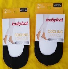 official photos 82cee 44c28 Kushyfoot Foot Covers Ultra Low Cut 2 Pairs Regular Fits Shoe Size 5 to 9