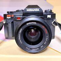 MIRANDA MS-2 Super 35mm Film SLR Camera 35-70mm Macro Lens Lomo Retro Student