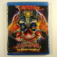 Killer Klowns From Outer Space -Blu-ray 2012 Brand New Factory Sealed MGM Bluray