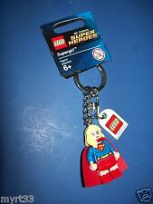 LEGO 853455 KEYCHAIN Key chain mini figure  2015 - DC COMICS - SUPERGIRL  new