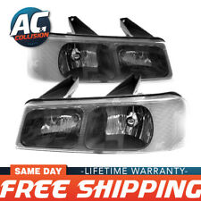 20-6581-00-1-20-6582-00-1 Headlight Right & Left Sides for 03-20 Chevy Express