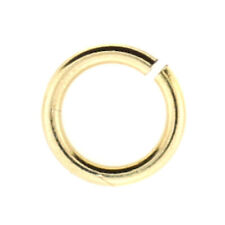 100pc, 6mm, 20gauge, Gold Filled Open Jump Ring, Made in USA, FREE SHIPPING!