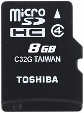 Toshiba High Speed M102 8GB Micro SD Memory Card Class 4 - THN-M102K0080M2 8 GB