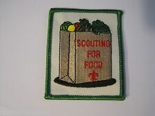 Scouting for Food Boy Scout Patch BSA?
