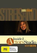 Inside The Actor's Studio - Barbra Streisand (DVD, 2007) Like new, free shipping