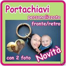 """PORTACHIAVI """"CUORE"""" PERSONALIZZATO CON LA TUA FOTO!!!!!"""