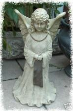 Concrete Latex Fiberglass Mold Garden LG Angel Planter