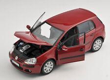 BLITZ VERSAND VW Volkswagen Golf V 5 2003-08 weinrot Welly Modell Auto 1:24 NEU