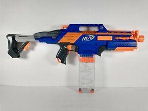Nerf N-Strike Elite Rapidstrike CS-18 Motorized Blaster Dart Gun w/ Clip Tested