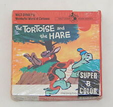 VINTAGE RARE Super 8MM Color Film Walt Disney's The Tortoise and the Hare SEALED