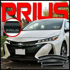 For 2016-2021 Toyota Prius-Prime Side Window Deflector Rain Visor Sun Vent Shade