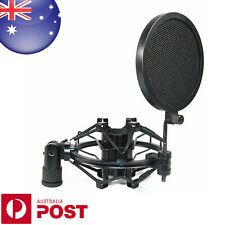 Professional Recording Studio Microphone Mic Wind Screen Pop Filter Shield Z343