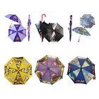 Disney Cartoon Molded Handle Umbrella For Kids