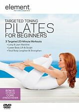 Element: Targeted Toning Pilates For Beginners DVD *NEW & SEALED FAST DISPATCH*