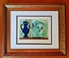PABLO PICASSO ORIGINAL 1948 BEAUTIFUL SIGNED PRINT MATTED 11 X 14 + RESALE  $995