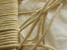 cordon vintage créùme moucheté rond  lacet corsage 3 mètre sur 4 mm