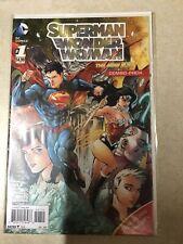 SUPERMAN WONDER WOMAN # 1 COMBO PACK EDITION FIRST PRINT DC COMICS
