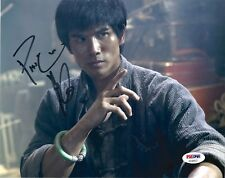 "PHILIP NG as BRUCE LEE SIGNED 8X10 PHOTO #2 ""BIRTH OF THE DRAGON"" PSA DNA COA"