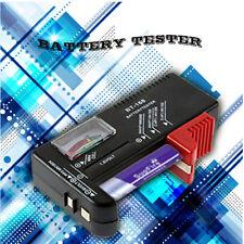 AA/AAA/C/D/9V/1.5V Universal Button Cell Battery Volt Tester Checker BT-168 OE