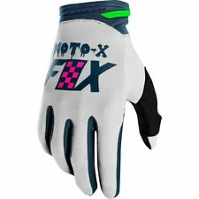 Taglia M Coppia Guanti Fox Dirtpaw Gloves Czar Grey Grigio Cross Enduro DH
