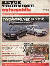 Revue Technique Automobile - Volkswagen Golf et Vento - Essence - Depuis 1992