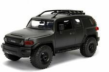 JADA 99318 JUST TRUCKS TOYOTA FJ CRUISER 1/24 DIECAST MODEL CAR CHARCOAL GREY