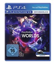 VR WORLDS = 5 VR Virtual Reality 3D Spiele für Sony Play Station 4 PS4 PSVR NEU