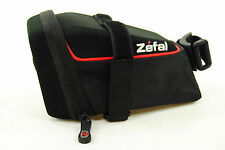 Zefal Iron Pack DS Hard Shell Wide Opening Bicycle Seat Saddle Bag, Large