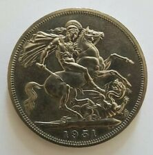 1951 The Royal Mint George VI Festival of Britain Five Shillings Crown UK