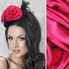 Pink/Purple Mini Fascinator Hat Bow Feather Ruffled Rose Halloween Costume OS US