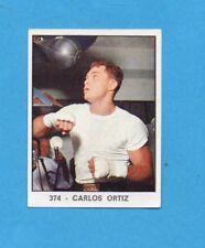 CAMPIONI DELLO SPORT 1966/67-PANINI-Figurina n.374- CARLOS ORTIZ -Recuperata