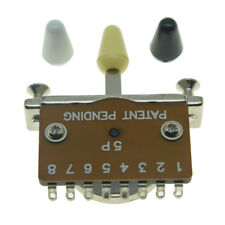 Double guitar switch  3 or 5 way  5//2 or 3//2 with screws and tip
