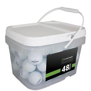 48 Bridgestone e6 Mint Used Golf Balls AAAAA *In a Free Bucket!*