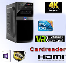 Multimedia PC-Intel Core i7-8700k-32gb ddr4 ram-1tb SSD + Windows 10 pro-DVDRW-CR