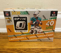 2020 DONRUSS OPTIC NFL FOOTBALL MEGA BOX BURROW TUA HERBERT RC TARGET BRONZE 40