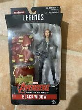 Marvel Legends BLACK WIDOW Age Of Ultron HULKBUSTER BAF new RARE UK Exclusive