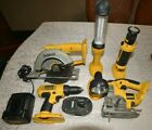 DEWALT 18 volt cordless combo tool kit
